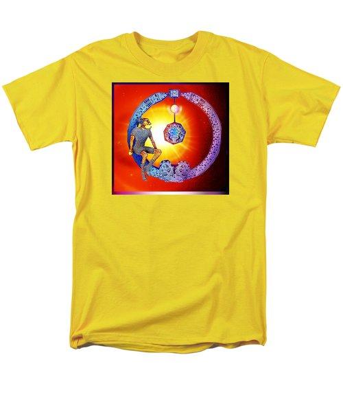 Alien  Dream Men's T-Shirt  (Regular Fit) by Hartmut Jager