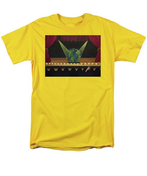 All The World's On Stage Men's T-Shirt  (Regular Fit)