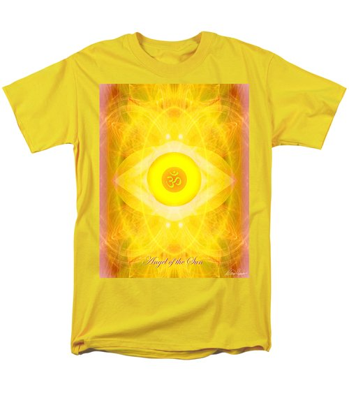Angel Of The Sun Men's T-Shirt  (Regular Fit) by Diana Haronis