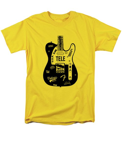 Fender Telecaster 64 Men's T-Shirt  (Regular Fit)