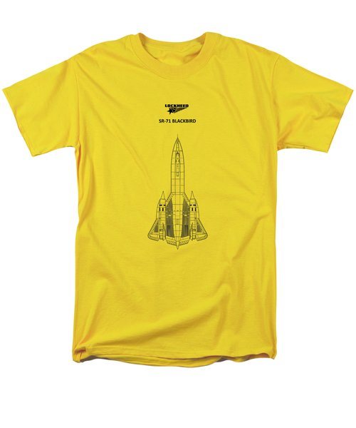Sr-71 Blackbird Men's T-Shirt  (Regular Fit) by Mark Rogan