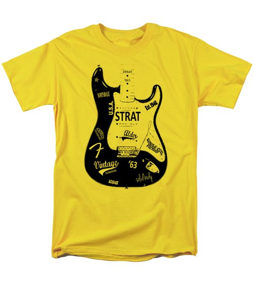 Fender Stratocaster 63 Men's T-Shirt  (Regular Fit)
