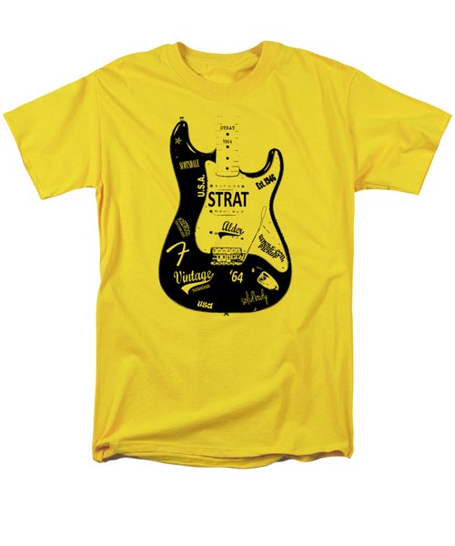 Fender Stratocaster 64 Men's T-Shirt  (Regular Fit) by Mark Rogan