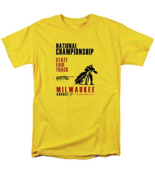 National Championship Milwaukee Men's T-Shirt  (Regular Fit) by Mark Rogan