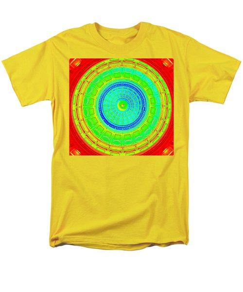 Austin Dome - C Men's T-Shirt  (Regular Fit) by Karen J Shine