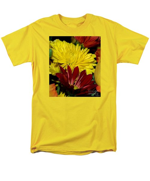 Men's T-Shirt  (Regular Fit) featuring the photograph Autumn Colors by Patricia Griffin Brett
