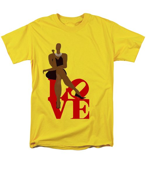Bald Sitting On Love Men's T-Shirt  (Regular Fit) by Romaine Head