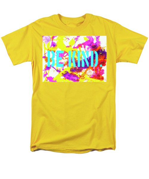 Be Kind Men's T-Shirt  (Regular Fit) by Toni Hopper