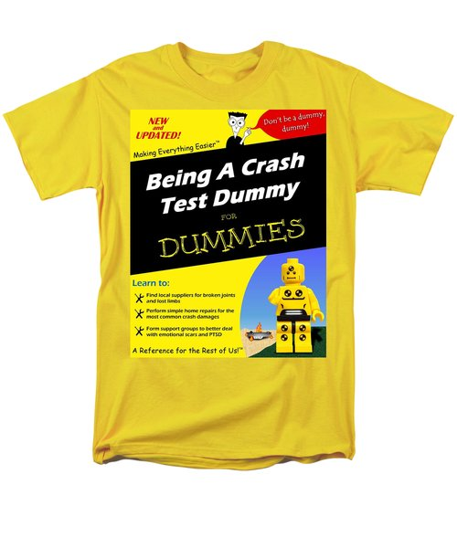 Men's T-Shirt  (Regular Fit) featuring the photograph Being A Crash Test Dummy For Dummies by Mark Fuller