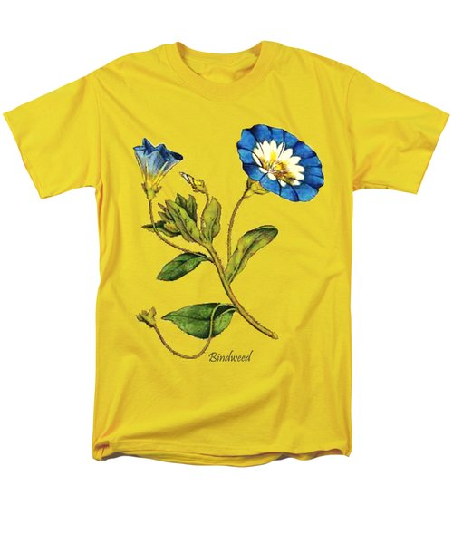 Men's T-Shirt  (Regular Fit) featuring the digital art Bindweed by Asok Mukhopadhyay