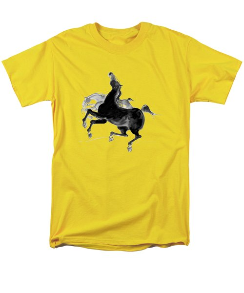 Black And Proud Men's T-Shirt  (Regular Fit) by Mary Armstrong