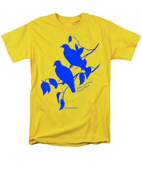 Blue Doves Men's T-Shirt  (Regular Fit) by The one eyed Raven