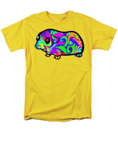 Colorful Guinea Pig Men's T-Shirt  (Regular Fit) by Chris Butler