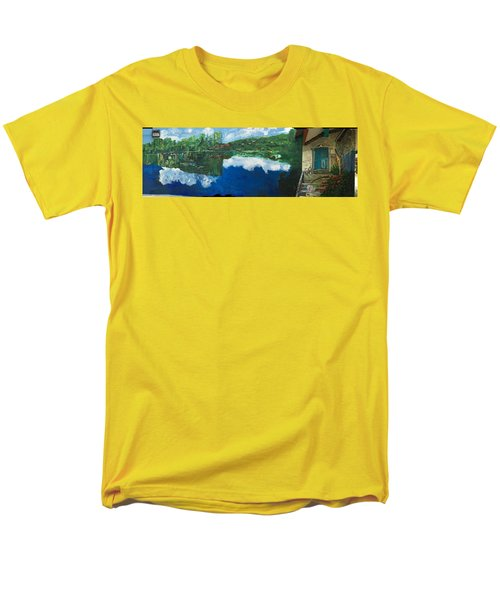 Coloring Holland V - Wall Four Men's T-Shirt  (Regular Fit) by Belinda Low