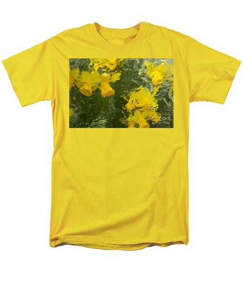 Men's T-Shirt  (Regular Fit) featuring the photograph Daffodil Impressions by Jeanette French