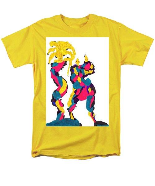 Definism Island Men's T-Shirt  (Regular Fit) by Darrell Black