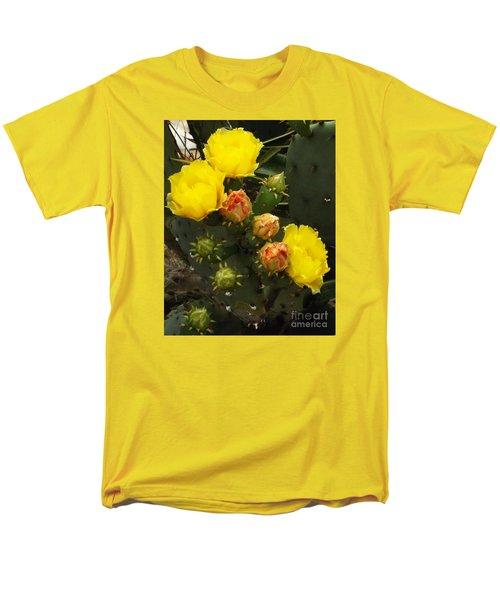 Desert Rose Men's T-Shirt  (Regular Fit) by Audrey Van Tassell