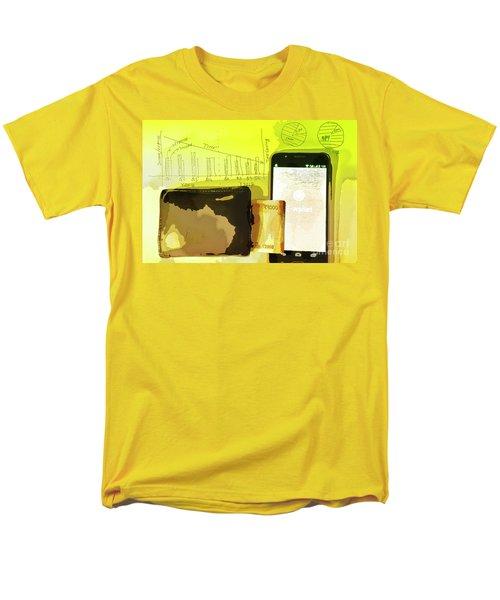 Digitalization Men's T-Shirt  (Regular Fit) by Kiran Joshi