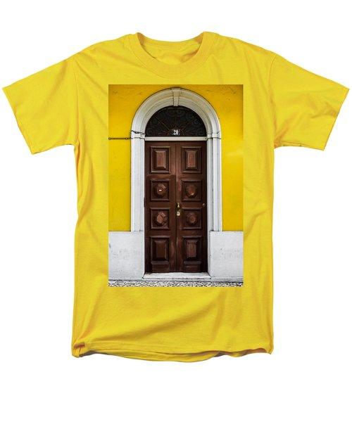 Door No 20 Men's T-Shirt  (Regular Fit) by Marco Oliveira