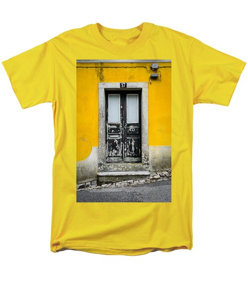 Door No 37 Men's T-Shirt  (Regular Fit) by Marco Oliveira