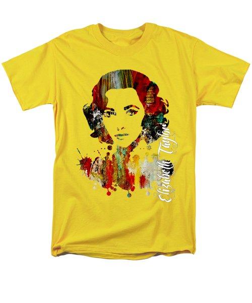 Elizabeth Taylor Collection Men's T-Shirt  (Regular Fit) by Marvin Blaine