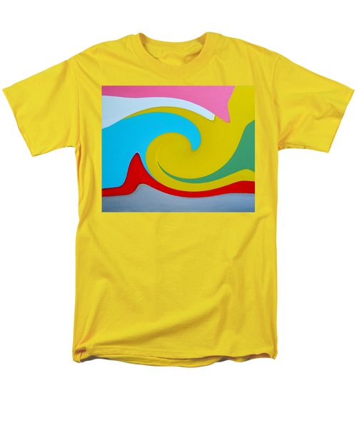 Everybody Has A Cousin In Miami Two Men's T-Shirt  (Regular Fit) by Dick Sauer