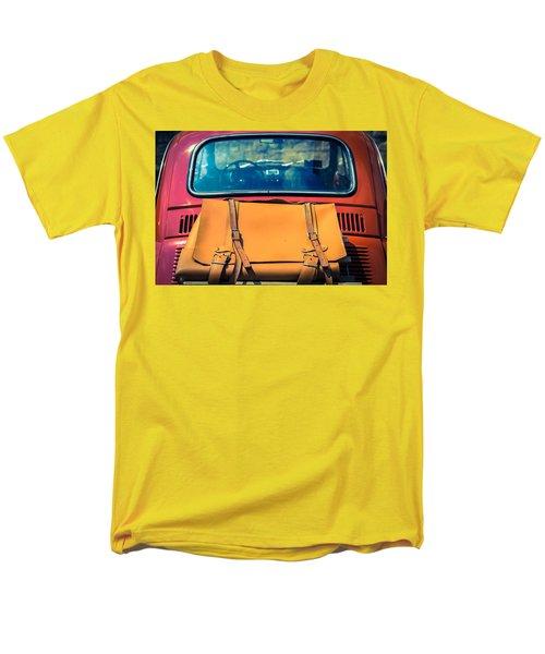 Fiat 500 Men's T-Shirt  (Regular Fit) by Cesare Bargiggia