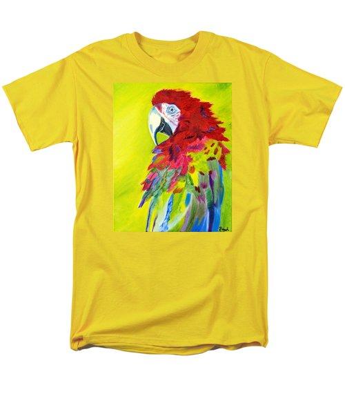 Fiery Feathers Men's T-Shirt  (Regular Fit) by Meryl Goudey