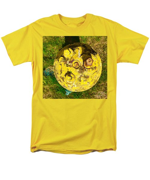 Fire Hydrant #1 Men's T-Shirt  (Regular Fit) by Suzanne Lorenz