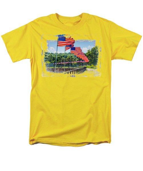 Flag Walk Men's T-Shirt  (Regular Fit) by John M Bailey