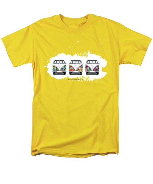 Flower Power Vw Men's T-Shirt  (Regular Fit)