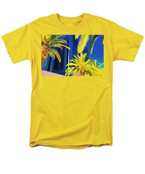 Glass And Palms Men's T-Shirt  (Regular Fit) by Joe Burns