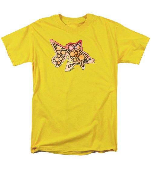 Goldfish Men's T-Shirt  (Regular Fit) by Petra Stephens