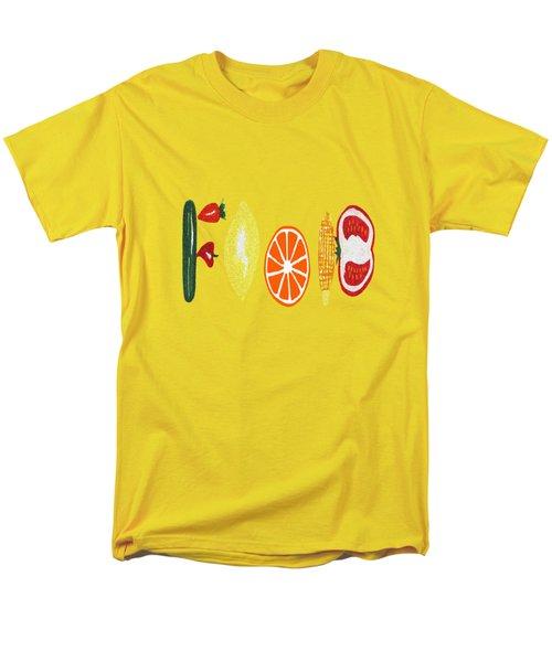 Good Eats Men's T-Shirt  (Regular Fit)