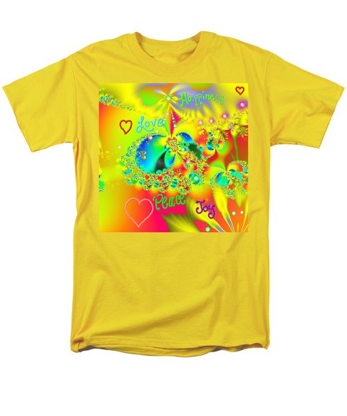 Happiness Men's T-Shirt  (Regular Fit) by Kevin Caudill
