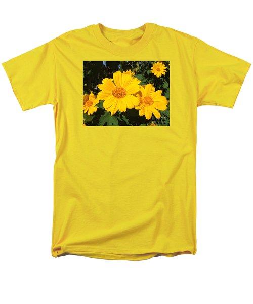 Happy Yellow Men's T-Shirt  (Regular Fit) by LeeAnn Kendall