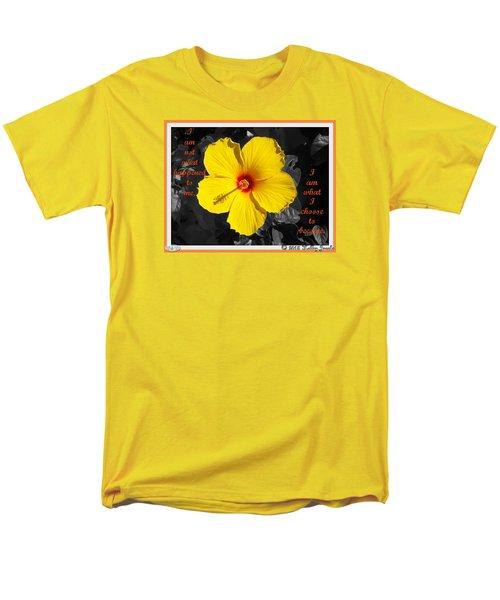 I Choose To Become Men's T-Shirt  (Regular Fit)