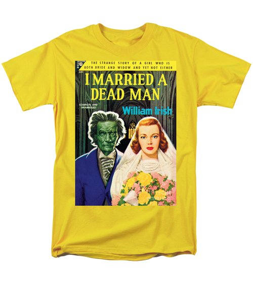 I Married A Dead Man Men's T-Shirt  (Regular Fit) by Unknown Artist