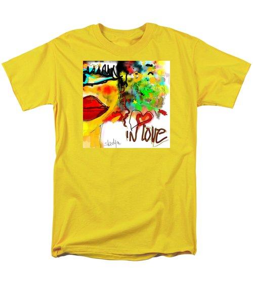 In Love  Men's T-Shirt  (Regular Fit)