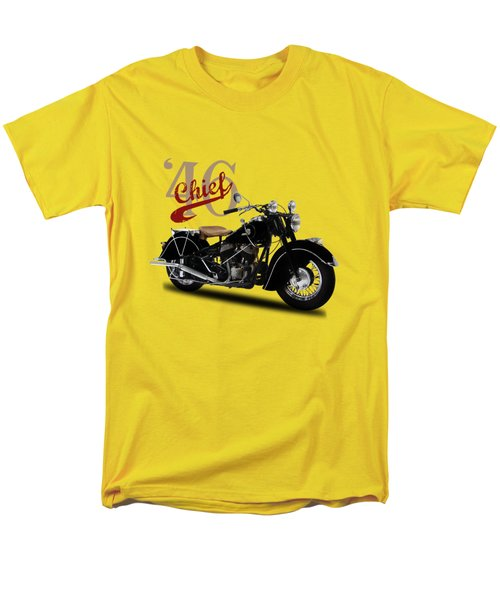 Indian Chief 1946 Men's T-Shirt  (Regular Fit) by Mark Rogan