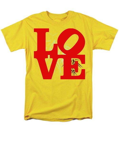 Jungle Love Tee Men's T-Shirt  (Regular Fit) by Paulette B Wright