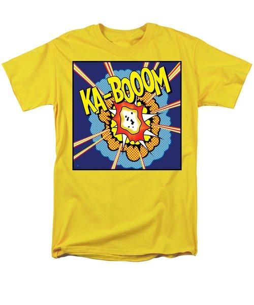 Kabooom Men's T-Shirt  (Regular Fit)