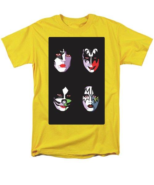 Kiss Men's T-Shirt  (Regular Fit) by Troy Arthur Graphics