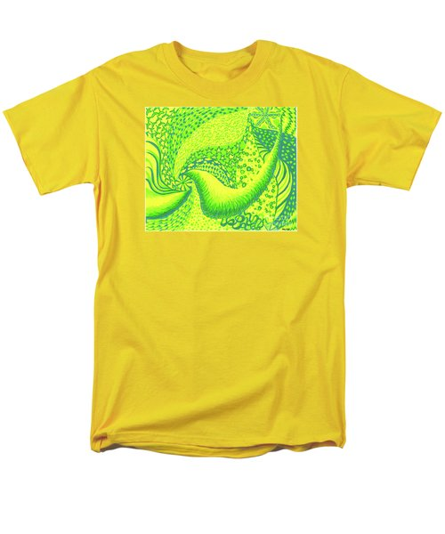 Men's T-Shirt  (Regular Fit) featuring the drawing Lemon Lime by Kim Sy Ok