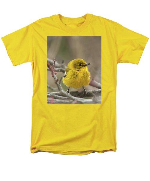 Men's T-Shirt  (Regular Fit) featuring the photograph Little Yellow by Lara Ellis