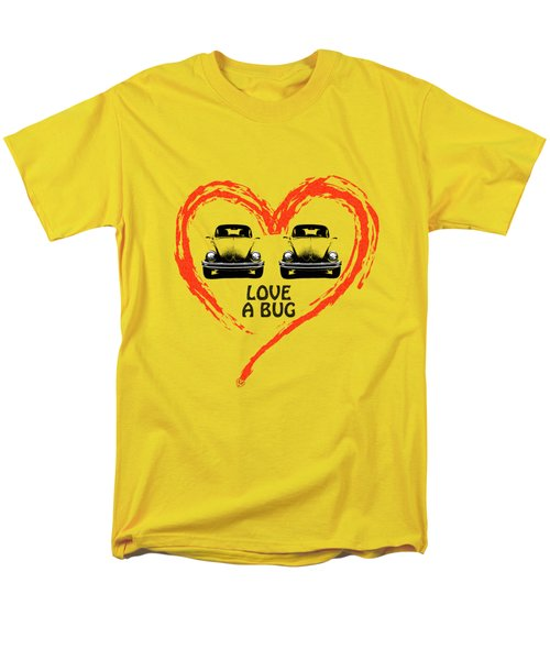Love A Bug Men's T-Shirt  (Regular Fit)