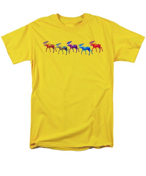 Moose Mystique Apparel Design Men's T-Shirt  (Regular Fit) by Teresa Ascone