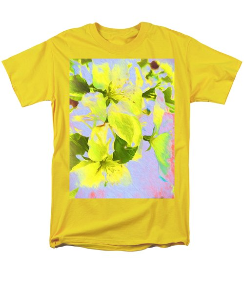 Men's T-Shirt  (Regular Fit) featuring the photograph Morning Floral by Kathy Bassett