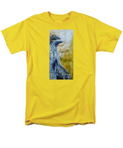Men's T-Shirt  (Regular Fit) featuring the painting Old Man Emu by Lyn Olsen