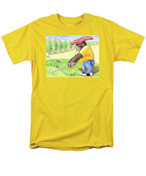 Oops Men's T-Shirt  (Regular Fit) by George I Perez